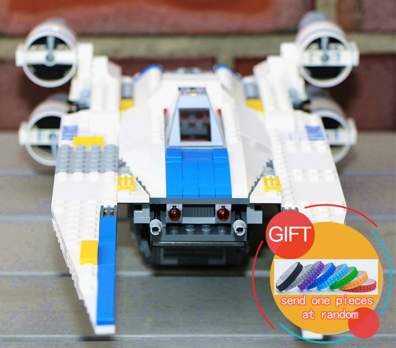 05054 679pcs The Rebel U Star Wing Fighter War Set Building Blocks Bricks Toys Compatible with 75155 lepin 2015 high quality spaceship building blocks compatible with lego star war ship fighter scale model bricks toys christmas gift