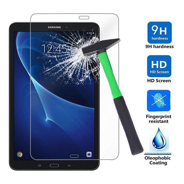De vidrio templado para Samsung Galaxy Tab A 10,1 DE 2016 A6 T580 T585 Protector de pantalla para Tab A 7,0 T280 T285 tablet de vidrio templado