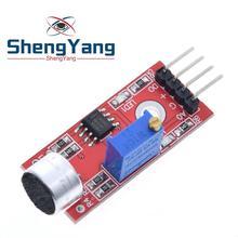 1 шт. ShengYang Высокочувствительный звуковой Микрофон Датчик Модуль обнаружения для arduino AVR PIC KY-037