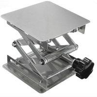 1 Piece/lot 200x200x280mm Stainless steel lifting platform, Raising Platform Lifting Table for Lab Supplies