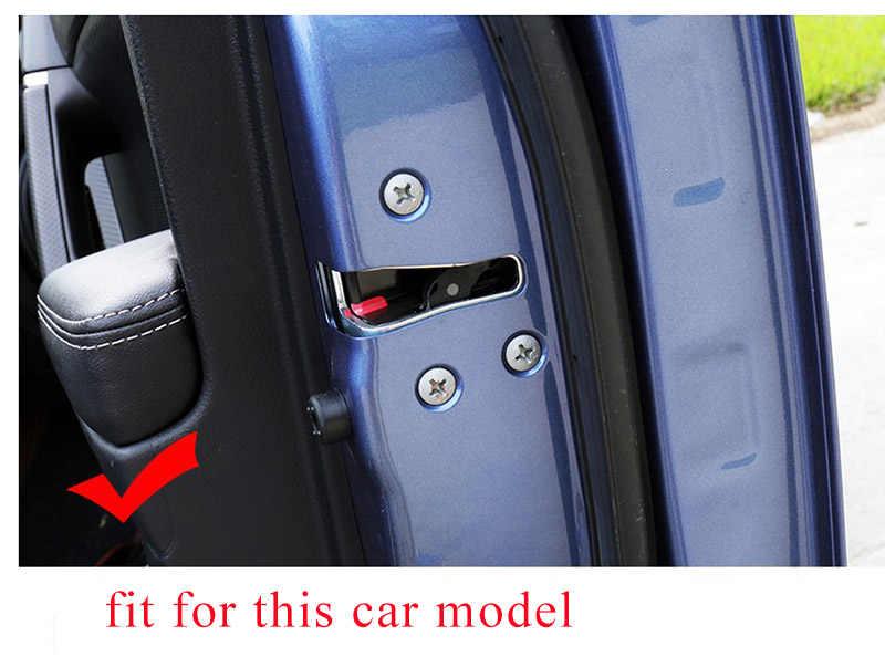 Car Door Lock Screw Protection Stickers Covers Auto Accessories For BMW e46  e90 e39 e60 e36 f30 f10 m e87 f20 x5 e53 e30 e91