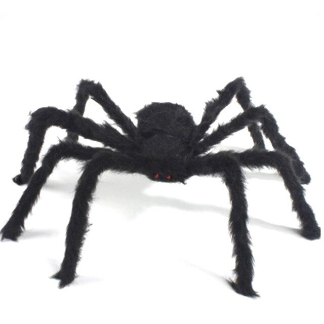 Schwarze Spinne Heikles Spielzeug Imitiert Stofftiere Spukhaus ...