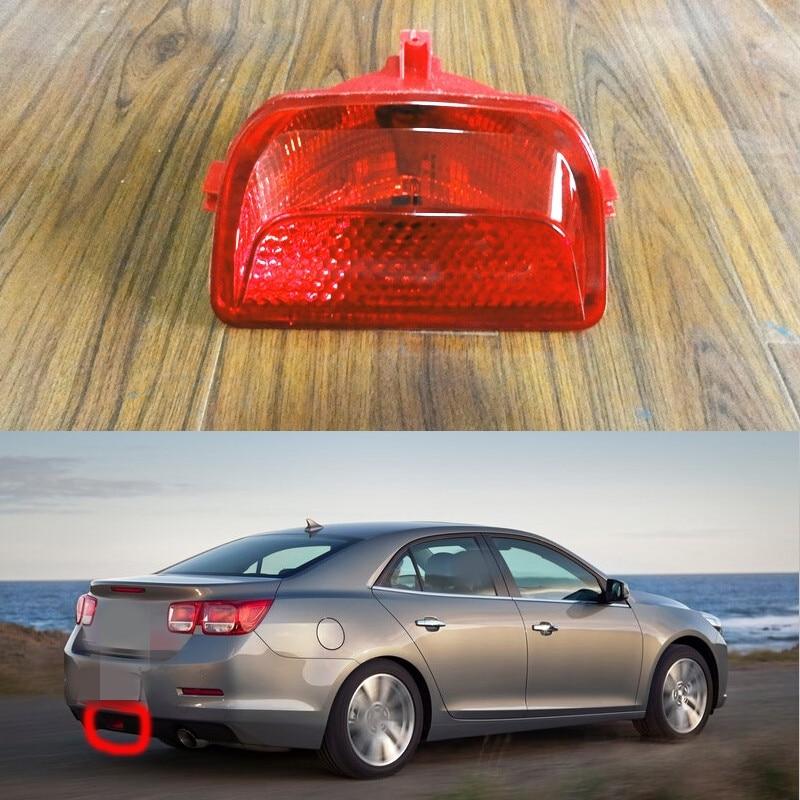 1Pcs Rear Bumper Middle Light Tail Fog Lamp For Chevrolet Malibu 2013-2015