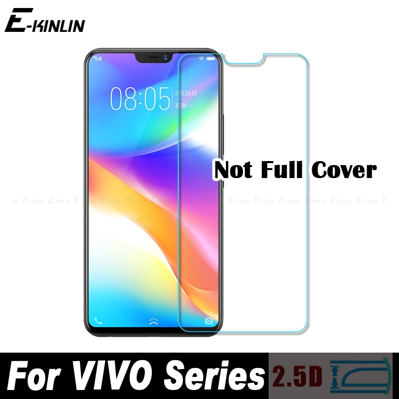 0.3mm 2.5D Tempered Glass Screen Protector Protective Film For VIVO Y85 Y83 Y81 Y79 Y75S Y75 Y71 Y65 Y67 Y69 Y55 Y55s Y53 Y53i