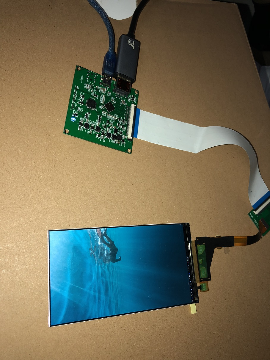 5.5 Inch 2560x1440 2K HDMI Display DIY 3D LCD Printer Projector Kit SLA Monitor UV Curing SLA Module Screen PC 1440P Monitor