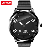 Original Lenovo Watch X Bluetooth 5.0 8ATM Waterproof Smartwatch 1.5 inch Sapphire Glass Mirror Smartband Support iOS Android