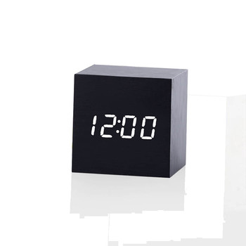 Wood Styled Digital LED Alarm Clock