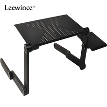 Leewince Vented-Stand Bed-Tray Desk-Table Notebook Computer-Desks Folding Lap PC