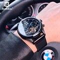 Bestdon Tourbillon Mechanische Uhr männer Sport Automatische Voller Stahl Uhren Top Luxus Marke Studenten 2019 Römische Wasserdicht