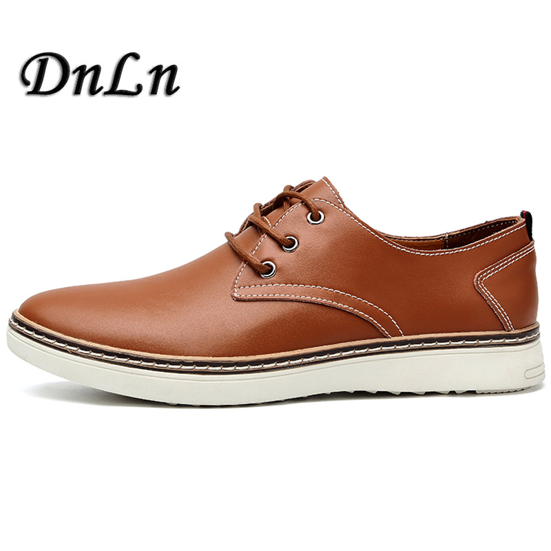 Size 38-47 Classic Simple Men Oxford Casual Oxford Shoes For Men Black Blue Brown Men Dress Shoes D30 casual waterproof boot silicone shoes cover w reflective tape for men black eur size 44 pair