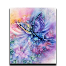 Diy Diamond paint cross stitch decoration home Full Square & Round 3d diamond mosaic embroidery Butterfly leaves