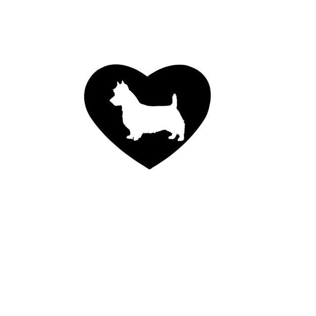 Aliexpresscom Buy Cool Graphical Dog Lovers Adoption Australian - Cool vinyl decals