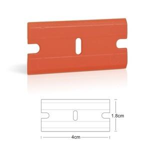 "Image 2 - EHDIS 100 pcs 1.5 ""คู่ขอบมีดโกนใบมีดกาวสติกเกอร์ Remover มีดโกน Scraper ฟิล์มไวนิลรถ Wrap เครื่องมือแก้วทำความสะอาดไม้กวาด"