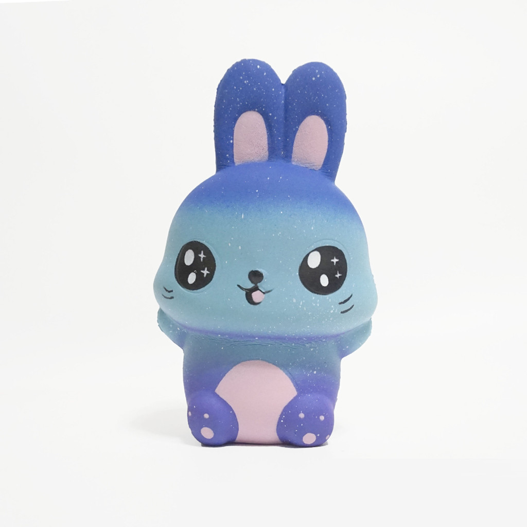 2019 Hot Sale Starry Cute Rabbit Scented Slow Rising Collection Squeeze Stress Reliever Toy   6.10