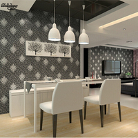 Papel De Parede High Quality European Style Wallpaper Embossed Pattern Wallpaper Home Decoration 3D Wall Cover