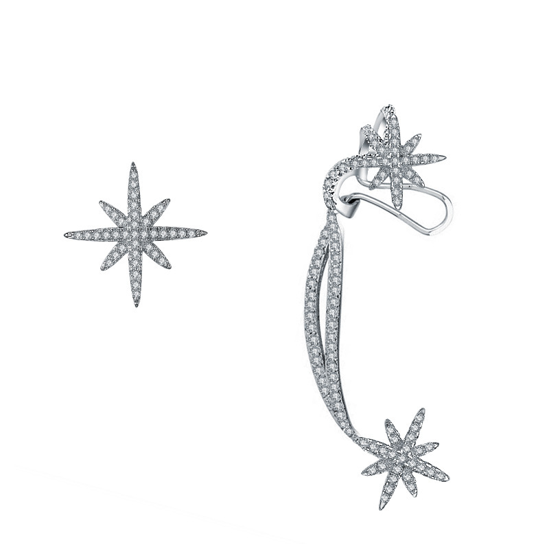 2019 Sale fashion jewelry New Flower Bee Fringe Earrings female Crystal From Swarovski Mother's Day earrings