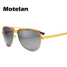 bfee67c3fb Aleación de aluminio y magnesio piloto hombres del estilo polarizado Gafas  de sol moda Accesorios coche conducir gafas redondo E..