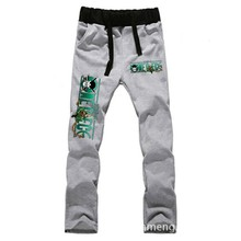 Anime  One Piece Zoro LOVERS pure cotton pants sports casual trousers cosplay gift NEW Fashion