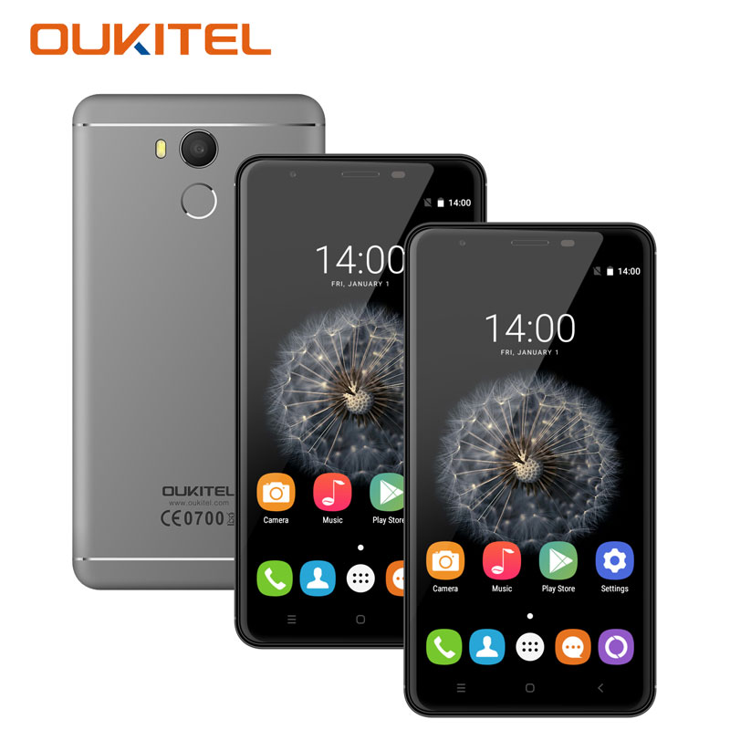 Oukitel U15 Pro 5 5 4G Smartphone Octa Core 3GB RAM 32GB ROM Fingerprint 16MP Camera