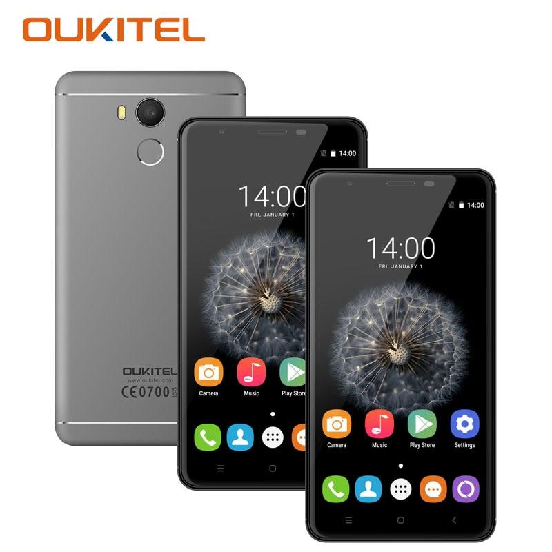 bilder für Oukitel U15 Pro 5,5 ''4G Smartphone Octa-core 3 GB RAM 32 GB ROM 16MP Kamera Telefone Celular 3G Touch Android handys
