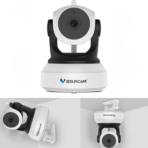 Image 5 - Cámara Vstarcam 720 P Wifi IP inalámbrica C7824WIP Monitor de seguridad para bebé red IP intercomunicador Teléfono Móvil APP cámara de visión nocturna