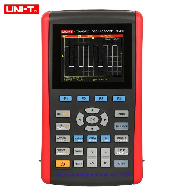 Handheld Digital Storage Oscilloscopes UNI-T UTD1050CL 3.5