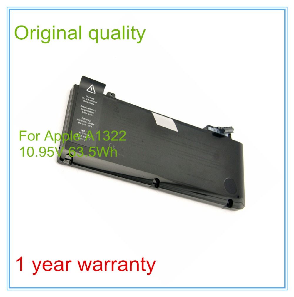New Original A1322 Battery For Pro 13 A1278 Unibody 2009 - 2012 Version 10.95V 63.5Wh yako yako железная дорога classic train
