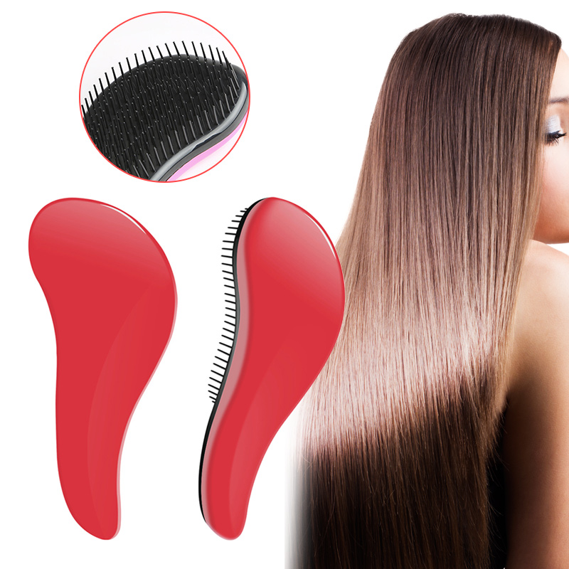 Hot Lovely Plastic Anti Static Combs Styling Curly Long Straight Hair Comb Hairdressing Massage Combs High Quality HY99 ST12