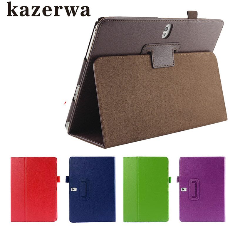 купить Case for Samsung Galaxy Tab S T800 T805 10.5PU Leather Tablet Cover Smart Case for Galaxy Tab S SM-T800 Tablet Para Case+Pen онлайн