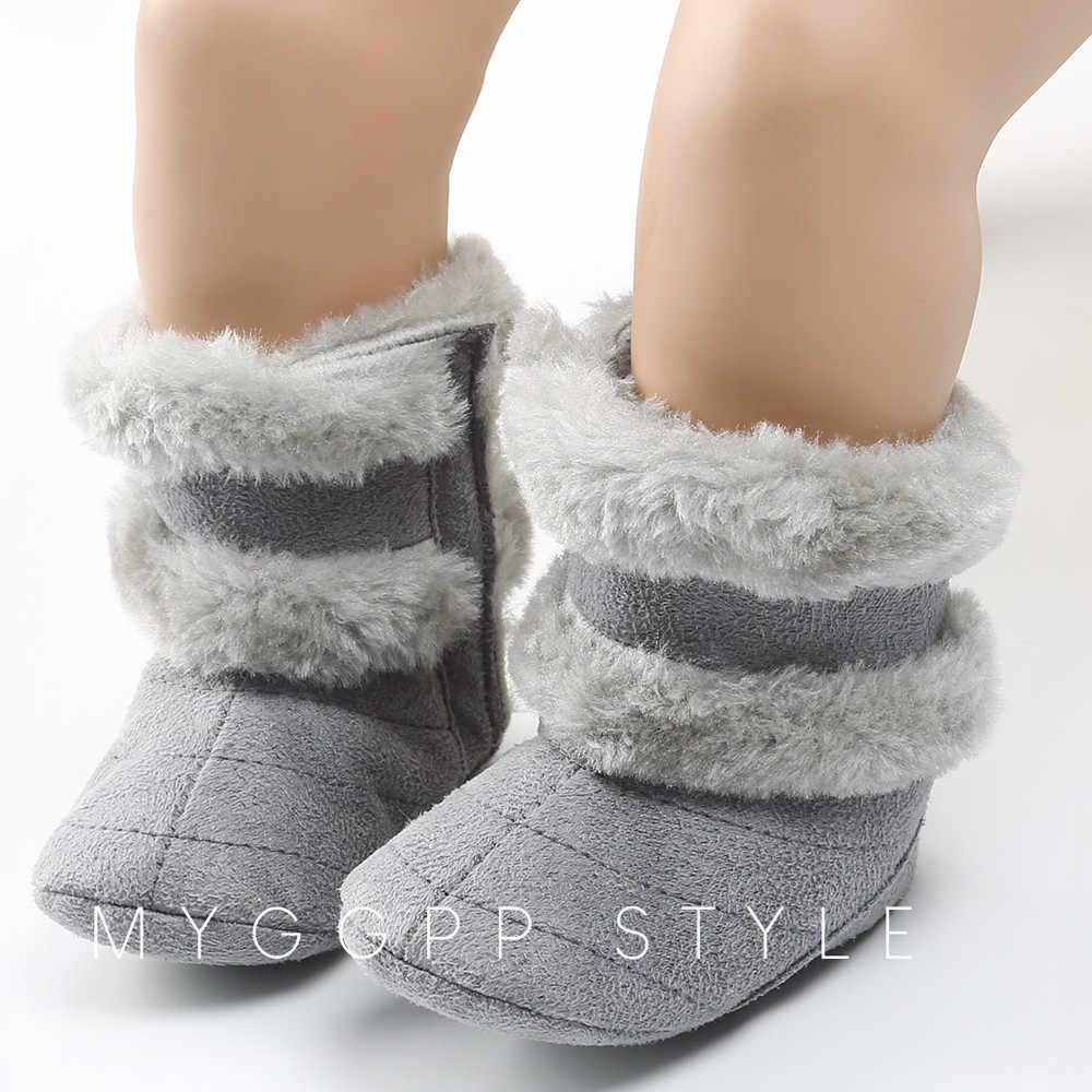 Детская обувь; хлопковые теплые плюшевые мягкие зимние сапоги для маленьких девочек; мягкая обувь для кроватки; mini melissa zapatos modis