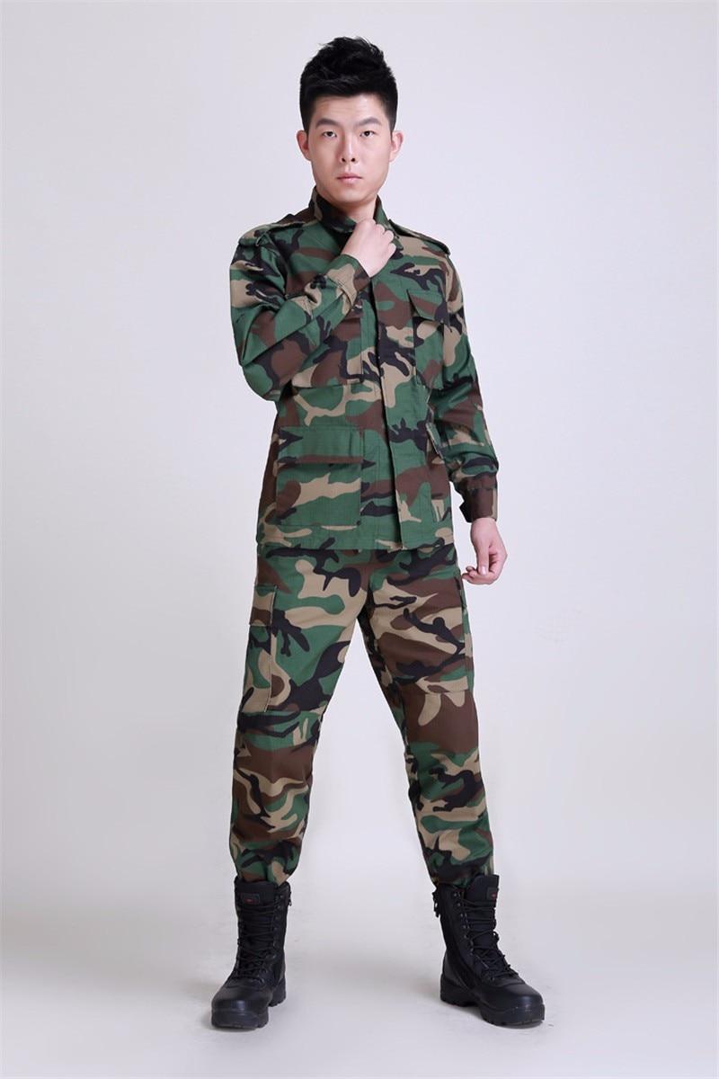Nouvel ensemble de vêtements militaires tactiques de l'armée BDU, uniforme tactique de Paintball de Camouflage, manteau de Combat et pantalon - 3