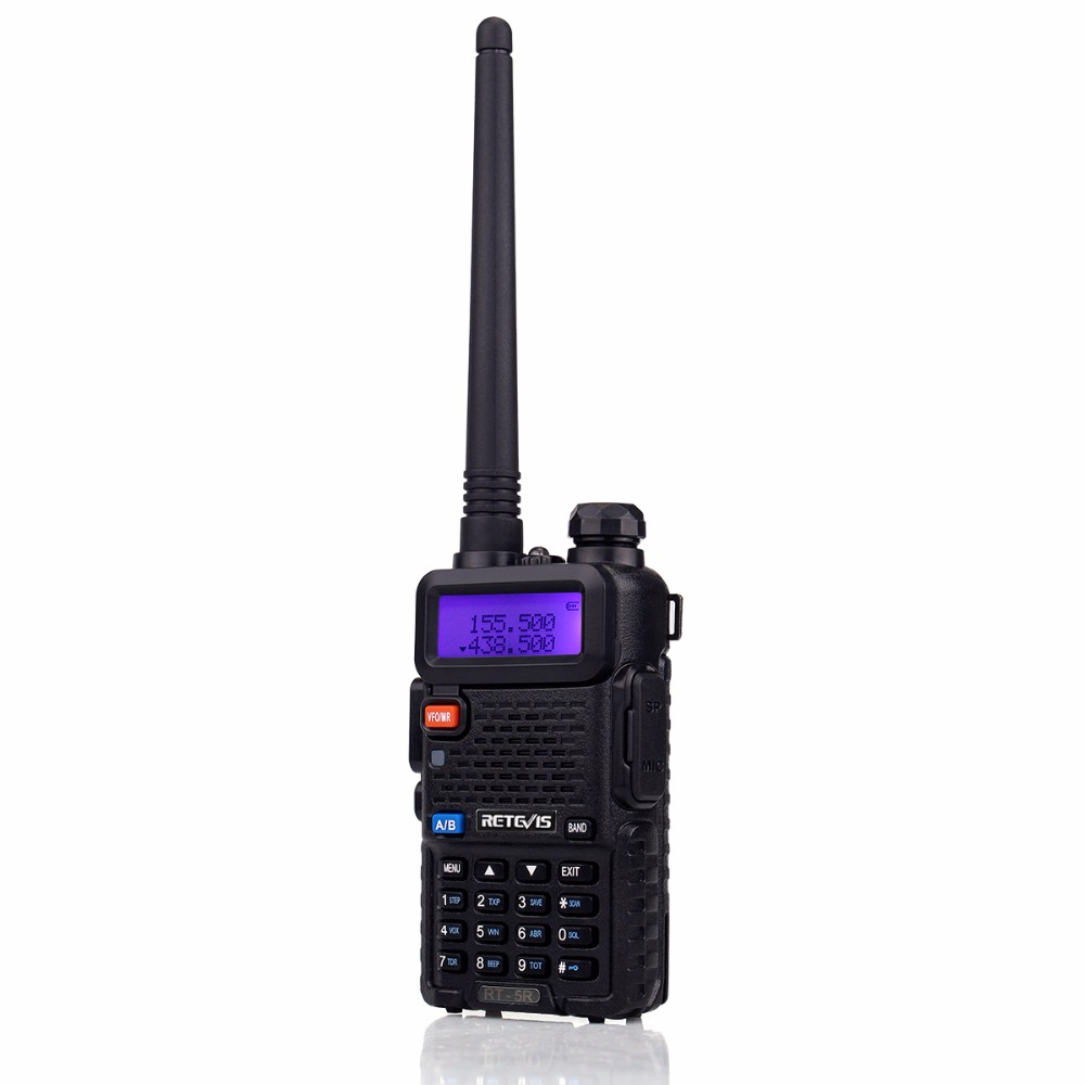 Image 3 - 2pcs Retevis RT 5R Walkie Talkie Radio 128CH VHF UHF Dual Band Ham Radio Amador Hf Transceiver 2 Way cb Radio Communicator RT5R-in Walkie Talkie from Cellphones & Telecommunications