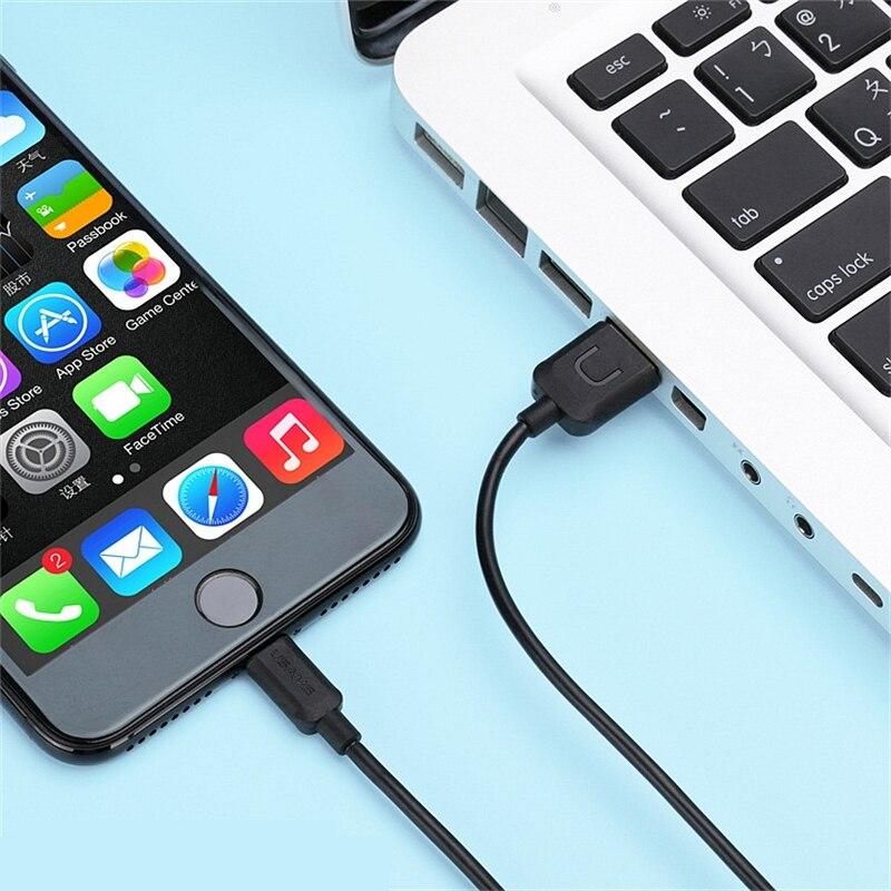 İPhone 6 üçün 1m USB Data Sinx Şarj Kabel Telefonu Adapter Teli - Cib telefonu aksesuarları və hissələri - Fotoqrafiya 6