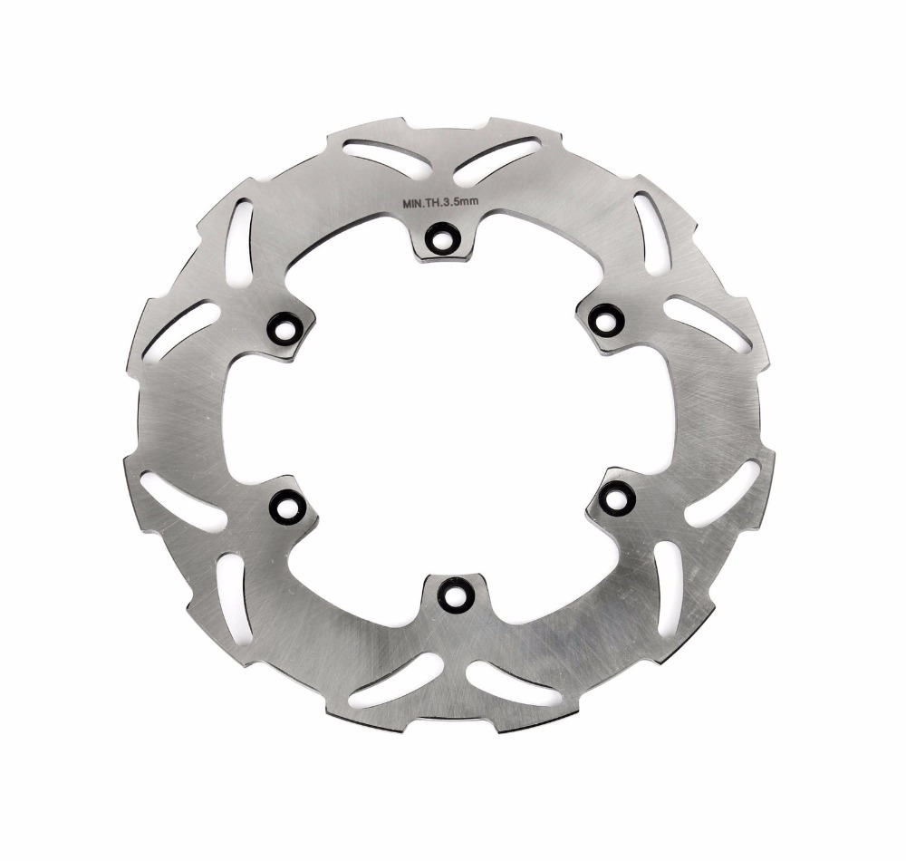 Chrome Motorcycle Rear Brake Disc Rotor for KTM 125 250 300 400 450 500 525 EXC SX SXS GS MX LC4 for ktm 390 200 125 duke 2012 2015 2013 2014 motorcycle accessories rear wheel brake disc rotor 230mm stainless steel