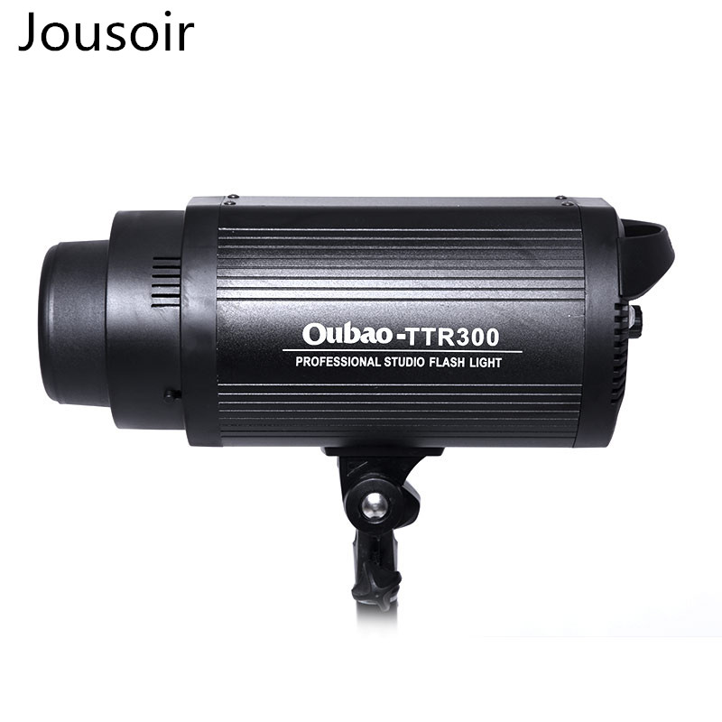 Photo flashlight 300W digital display control light ratio touch panel button for SLR camera CD50