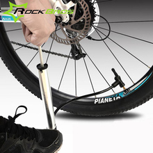 ROCKBROS Bicycle Pump Portable Bike Tire Inflator Air Pump Mountain Road Bike MTB Cycling Air Press Frame Accessories K6806