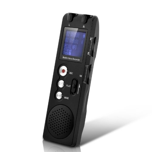 HBUDS Audio Voice Recorder - Bluetooth Voice and Call Recorder for Mobile Phones - 4 Dif ...