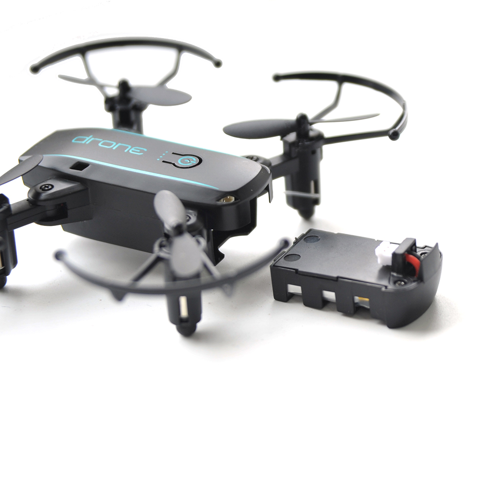 Linxtech IN1601 Dron 2.4G 720P Mini Drone with Camera Wifi FPV Foldable Altitude Hold Quadcopter Helicopter Toys 3 Batteries-in RC Helicopters from Toys & Hobbies    2