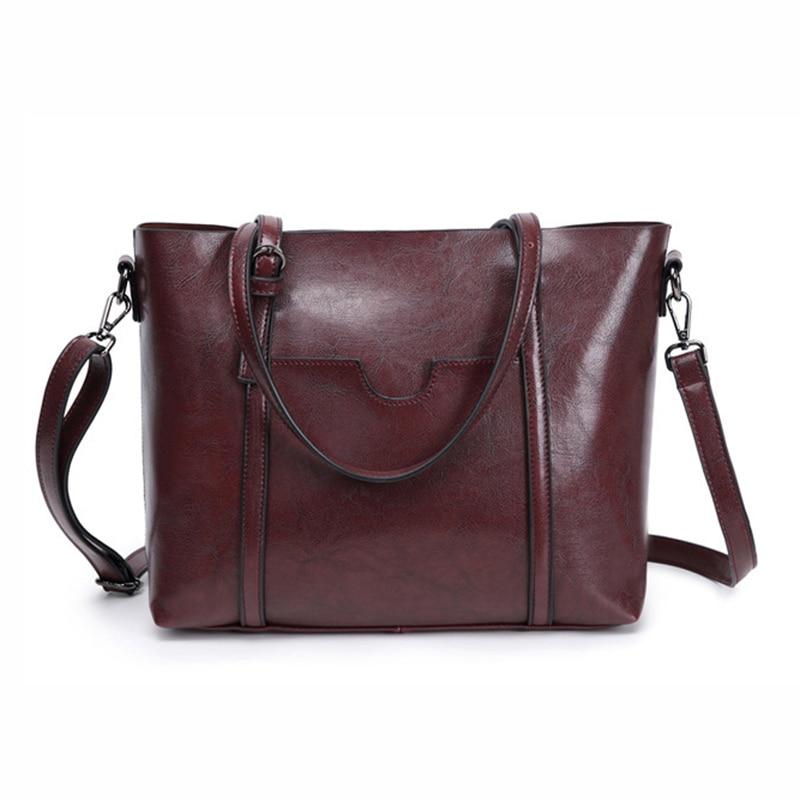 DIMNUTIVE 2018 New Collection Female Genuine Leather Shoulder Bag Casual Handbag Brand Briefcase High Quality Shopper Bag