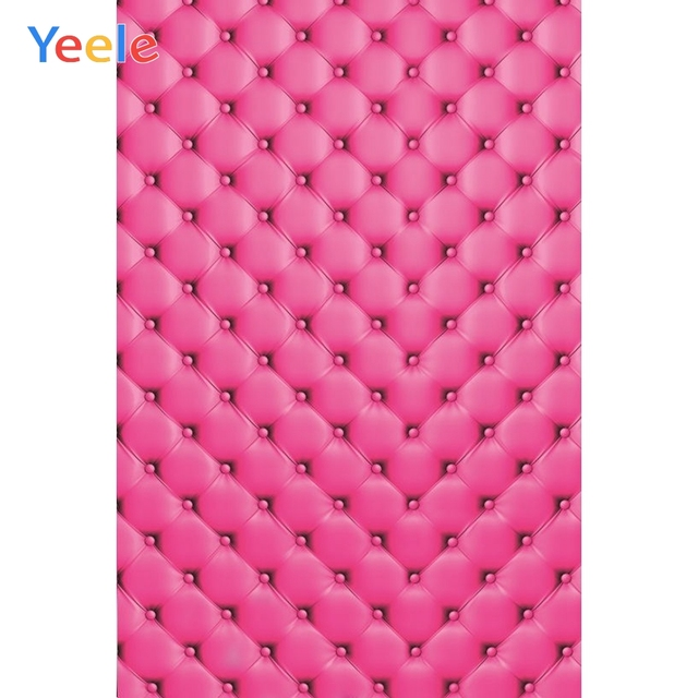 Yeele Pink Bed Headboard Portrait Commodity Show Photography Backgrounds Personalized Photographic Backdrops For Photo Studio