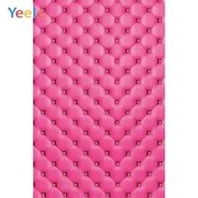 Yeele 핑크 침대 머리판 초상화 상품 쇼 사진 배경 사진 스튜디오에 대한 개인 사진 배경