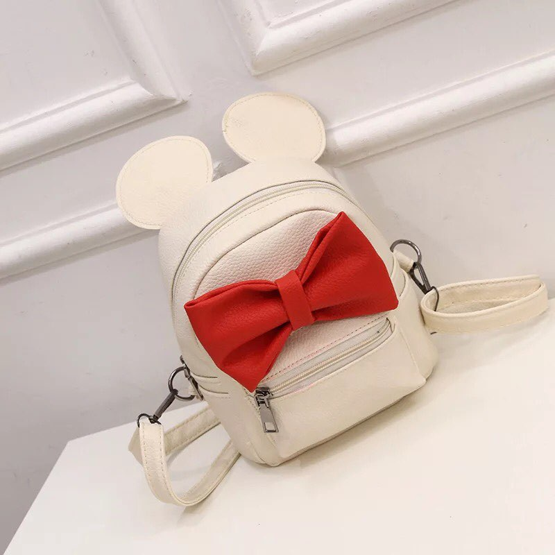 White Red Bow