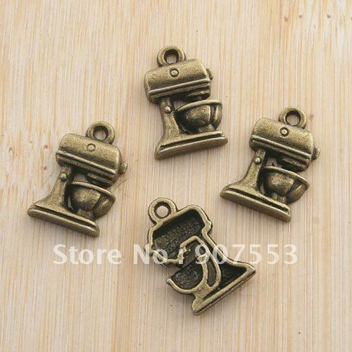 35pcs antiqued bronze font b KitchenAid b font Mixmasters with bowl pendant G1457