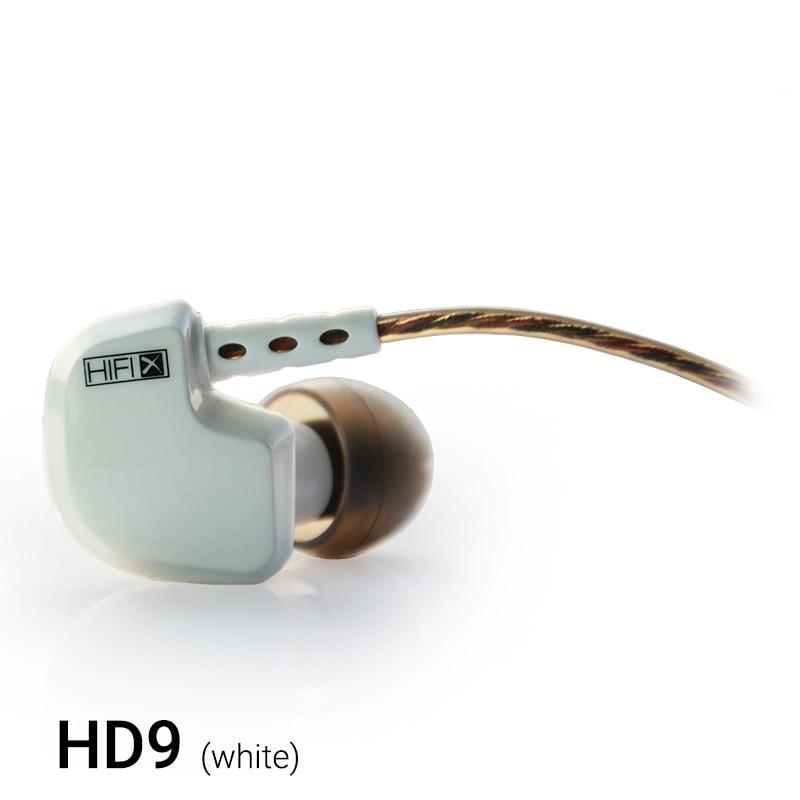KZ ATES ATE ATR HD9 Kobber Driver HiFi Sport Hovedtelefoner I Øret - Bærbar lyd og video - Foto 5