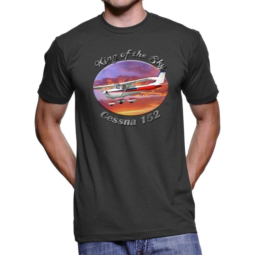 Del Hombres Rey Nuevo Cielo Verano Hombre 152 2019 Oscura Moda Camiseta Cessna wvN8n0Om