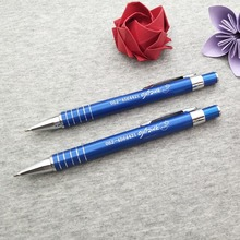 Quality metal pens 5 colors you can choose and mix custom engraved free with any logo text/website/address 500pcs on sale