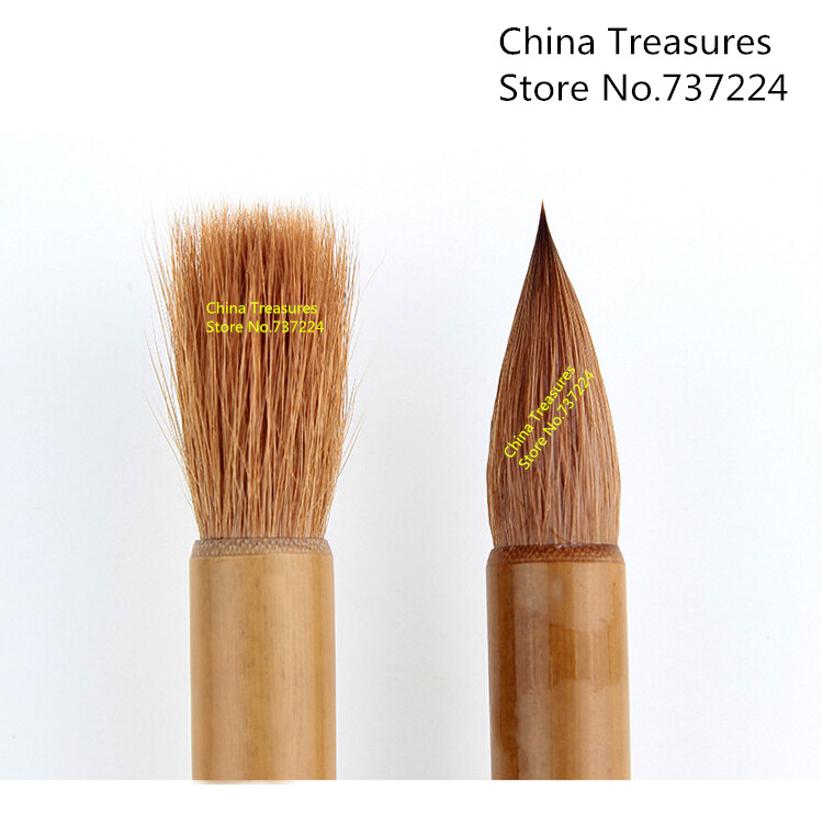 3pcs/lot for 3 size Chinese Calligraphy Brush Writing brush pen Mao Bi High Quality