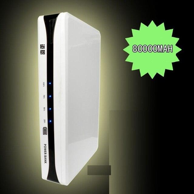 80,000mah 80000mah DC 5V 12V 13V 14 V 15v 16V 17V 18V 19V 20V 21V 22V 23V 24V laptop Battery Charger Power Bank 300w  110V 220V
