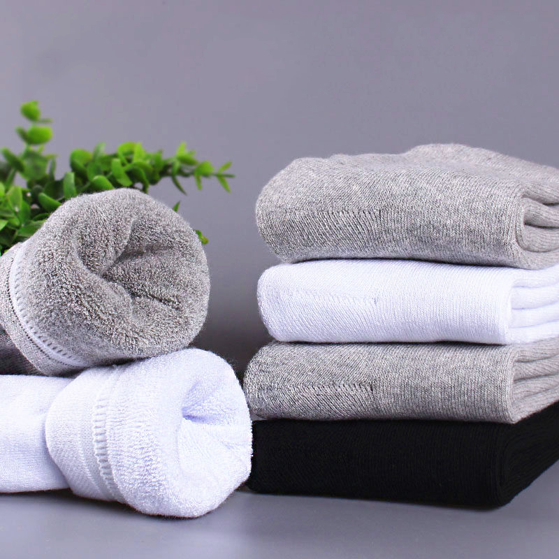 4Pairs New Winter Men s Super Thick Cashmere Wool Socks High Quality Classic Business Brand Man