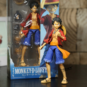 Image 3 - MegaHouse azione variabile Heroes One Piece Luffy Ace Zoro Sabo justice Nami Dracule Mihawk Action PVC Figure da collezione Model Toy